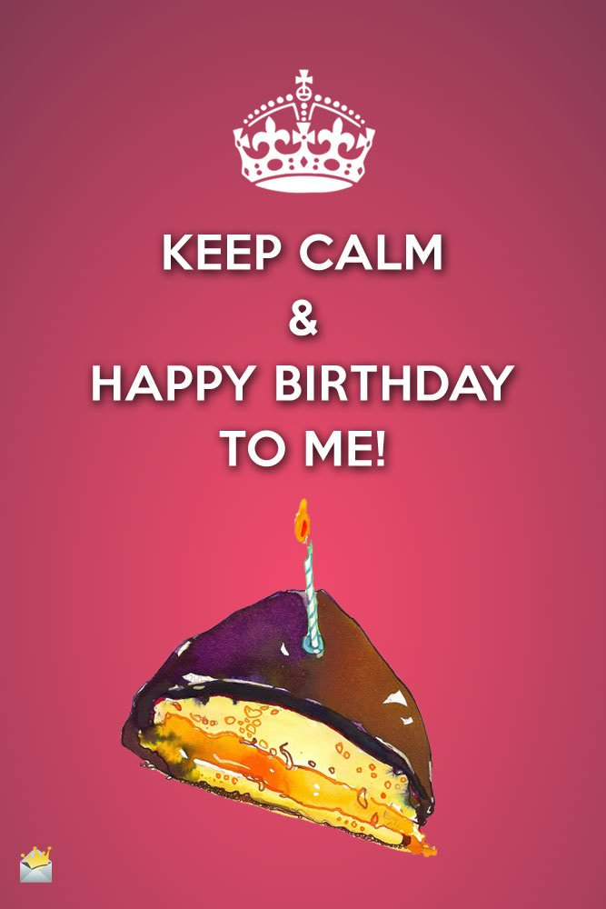 Happy Birthday to me…;-)